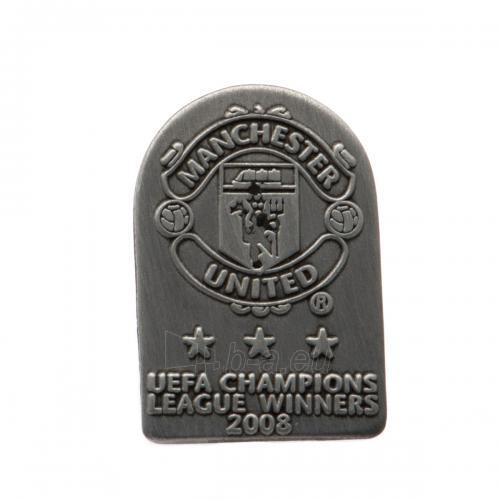 Manchester United F.C. prisegamas ženklelis (European champions) Paveikslėlis 1 iš 3 251009000831
