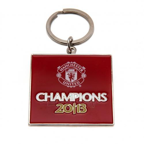 Manchester United F.C. raktų pakabukas (Champions) Paveikslėlis 1 iš 3 251009000837