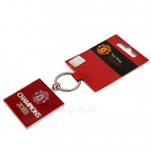 Manchester United F.C. raktų pakabukas (Champions) Paveikslėlis 3 iš 3 251009000837