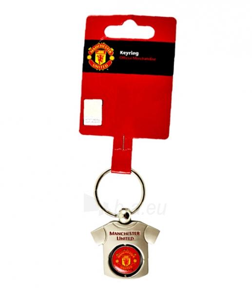Manchester United F.C. raktų pakabukas (marškinėliai) Paveikslėlis 1 iš 2 251009001314