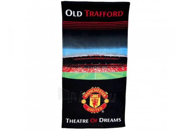 Manchester United F.C. rankšluostis (Stadiono panorama) Paveikslėlis 1 iš 3 251009000845