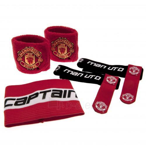 Manchester United F.C. sportinių aksesuarų rinkinys Paveikslėlis 1 iš 6 251009000866
