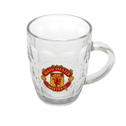 Manchester United F.C. stiklinis alaus bokalas Paveikslėlis 1 iš 3 251009000869