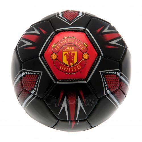 Manchester United F.C. treniruočių mini kamuolys (Juodas) Paveikslėlis 1 iš 4 251009000874