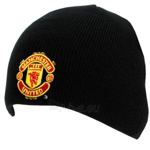 Manchester United F.C. žieminė kepurė (Juoda) Paveikslėlis 1 iš 2 251009000880