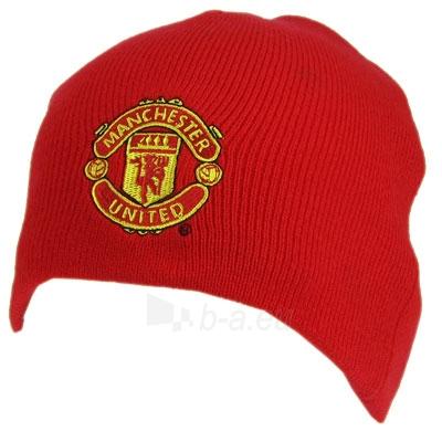 Manchester United F.C. žieminė kepurė (Raudona) Paveikslėlis 1 iš 2 251009000881