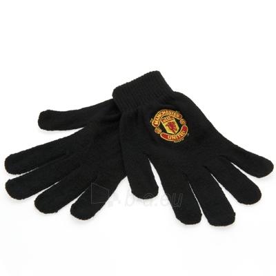 Manchester United F.C. žieminės pirštinės (Juodos) Paveikslėlis 1 iš 3 251009000883