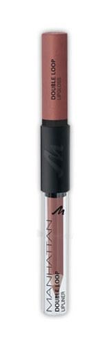 Manhattan Double Loop Lipliner Lipgloss Cosmetic 6ml Paveikslėlis 1 iš 1 2508721000314