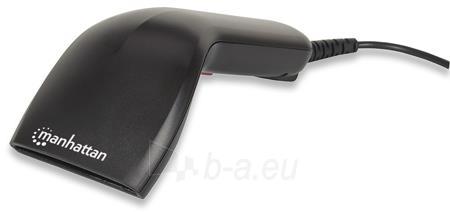 Manhattan kontaktinis CCD brūkšninių kodų skaitytuvas USB 60 mm skenavimo plotis Paveikslėlis 5 iš 5 250253300325