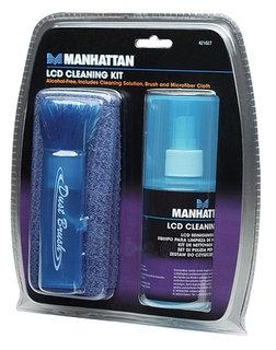 Manhattan LCD valymo rinkinys - skystis 200ml/teptukas/mikropluošto servetėlė Paveikslėlis 1 iš 2 250256401233