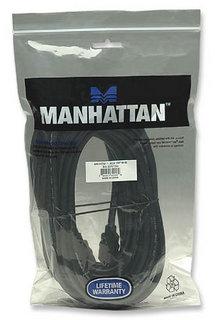 Manhattan Monitoriaus kabelis HDMI/HDMI 1.3 10m ekranuotas juodas Paveikslėlis 2 iš 2 250257420044