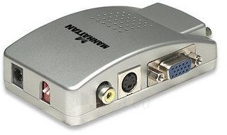 Manhattan PC į TV konverteris Paveikslėlis 2 iš 3 250255081484