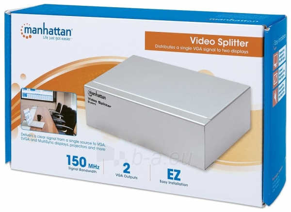 Manhattan splitter video VGA 1/2 Paveikslėlis 5 iš 5 250257501400