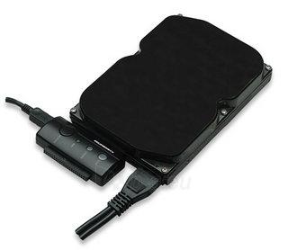 Manhattan USB 2.0 į SATA/IDE konverteris Paveikslėlis 2 iš 4 250255081464