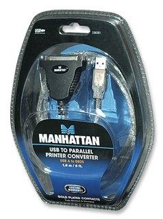Manhattan USB konverteris į lygiagretų portą LPT DB25 Paveikslėlis 2 iš 2 250255081467