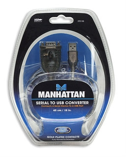 Manhattan USB konverteris nuosekliajam prievadui RS232 DB9M Paveikslėlis 2 iš 4 250255081468