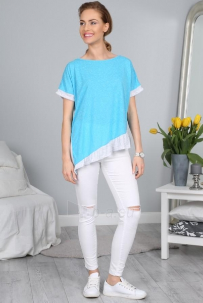 Marškinėliai Abigail (turkio spalvos) Paveikslėlis 1 iš 3 310820033940