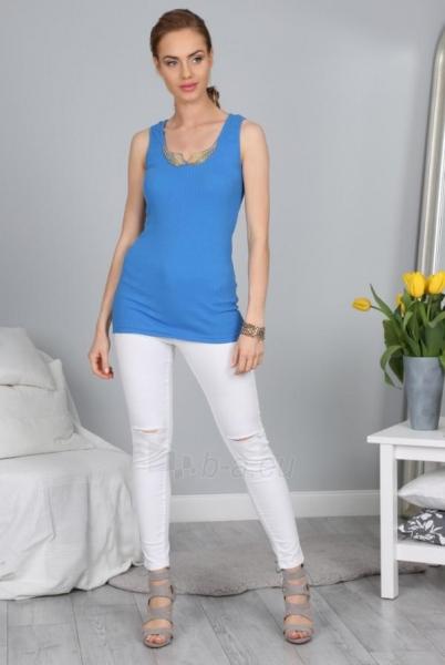 Marškinėliai Adriel (mėlynos spalvos) Paveikslėlis 1 iš 4 310820033928