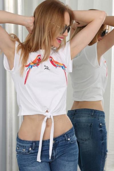 Marškinėliai Arva (baltos spalvos) Paveikslėlis 1 iš 3 310820033967