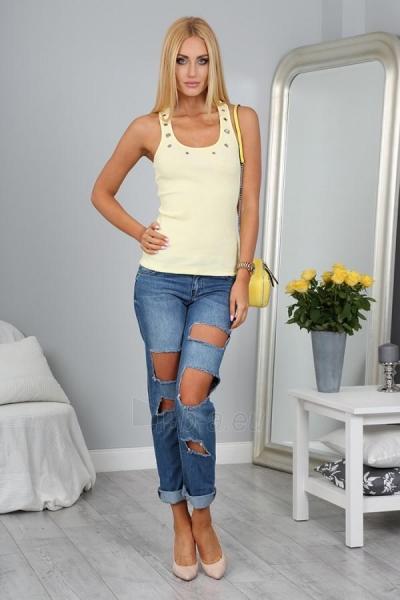 Marškinėliai Biana (citrinos spalvos) Paveikslėlis 1 iš 3 310820035473