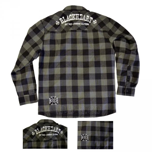 Marškinėliai BLACK HEART Duke Paveikslėlis 3 iš 4 310820218057