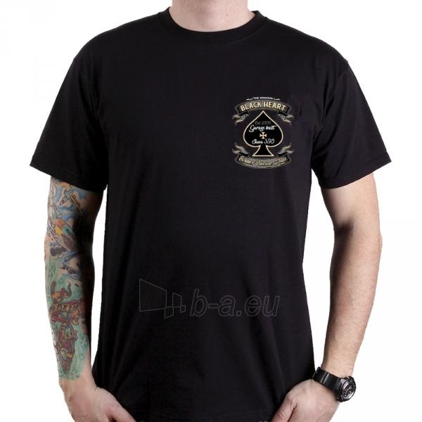 Marškinėliai BLACK HEART Jawa 350 Paveikslėlis 2 iš 2 310820218070