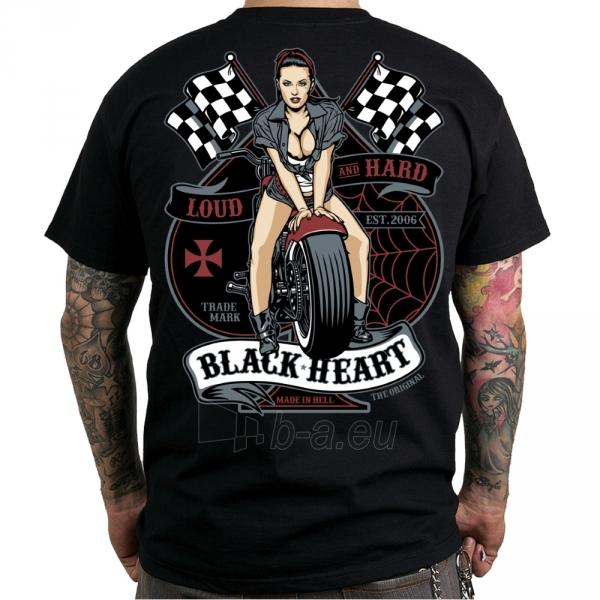 Marškinėliai BLACK HEART Loud and Hard Paveikslėlis 1 iš 2 310820218074