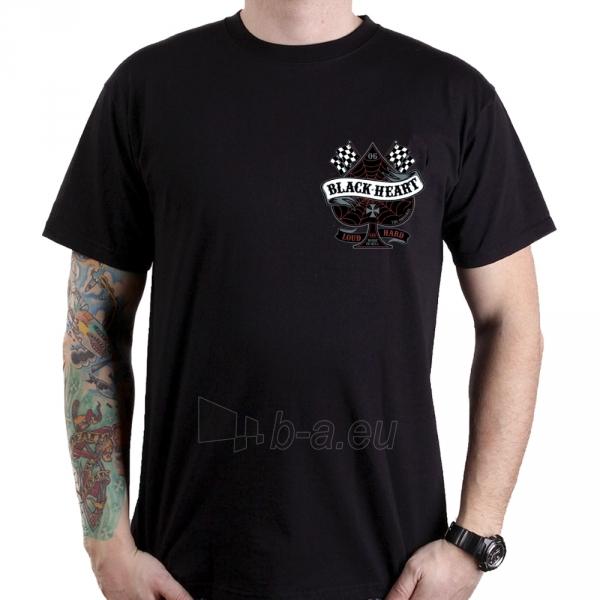 Marškinėliai BLACK HEART Loud and Hard Paveikslėlis 2 iš 2 310820218074