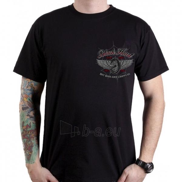 Marškinėliai BLACK HEART Red Baron Chopper Paveikslėlis 2 iš 2 310820218076