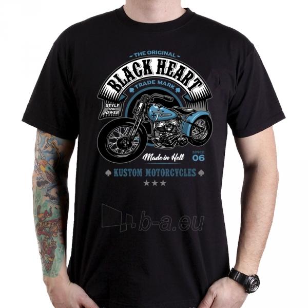 Marškinėliai BLACK HEART Style and Power Paveikslėlis 1 iš 1 310820218071