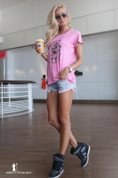 Marškinėliai Carys (rožinės spalvos) Paveikslėlis 1 iš 3 310820045907