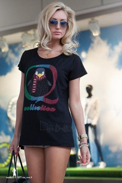 Marškinėliai Elissa (juodos spalvos) Paveikslėlis 1 iš 4 310820045900