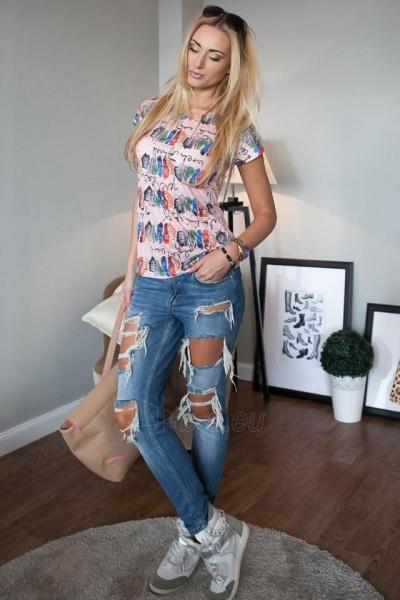 Marškinėliai Elyana (šviesiai rožinės spalvos) Paveikslėlis 1 iš 3 310820046113