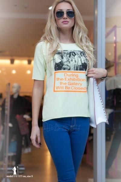 Marškinėliai Gusty (citrininės spalvos) Paveikslėlis 1 iš 4 310820035688