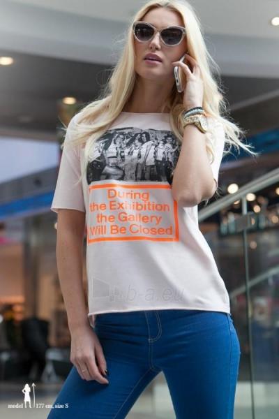 Marškinėliai Gusty (kreiminės spalvos) Paveikslėlis 1 iš 4 310820035686