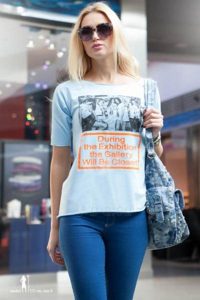 Marškinėliai Gusty (šviesiai mėlynos spalvos) Paveikslėlis 1 iš 4 310820035687