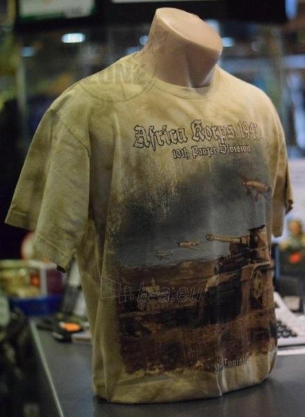 Marškinėliai Marškinėliai Afrika Korps - II Word War Paveikslėlis 1 iš 1 251510500131
