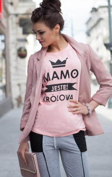 Marškinėliai Nailah (rožinės spalvos) Paveikslėlis 1 iš 4 310820045548