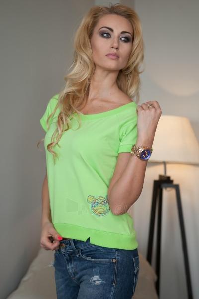 Marškinėliai Nandini (žalios spalvos) Paveikslėlis 1 iš 3 310820046247