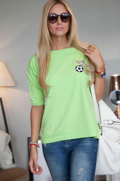 Marškinėliai Nele (žalios spalvos) Paveikslėlis 1 iš 4 310820046243