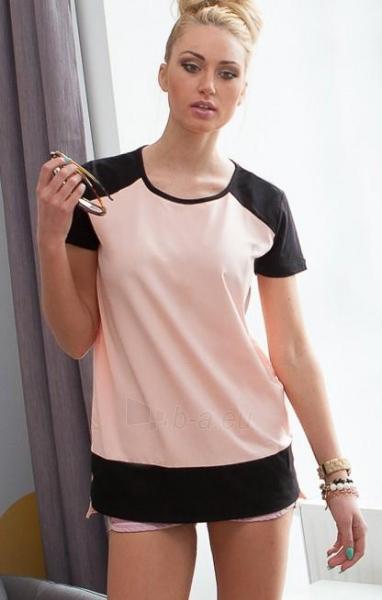Marškinėliai Nicolette (persikinės spalvos) Paveikslėlis 1 iš 3 310820045546
