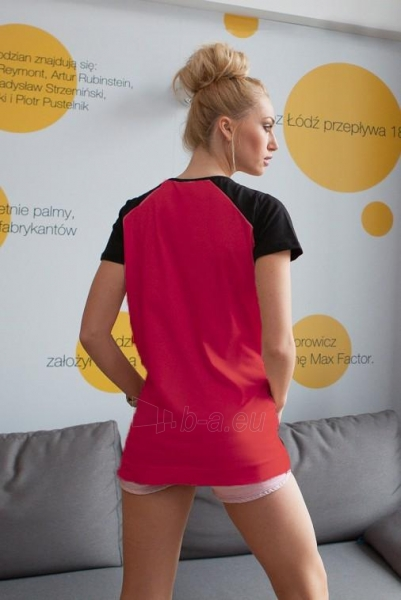 Marškinėliai Nicolette (raudonos spalvos) Paveikslėlis 1 iš 2 310820045547