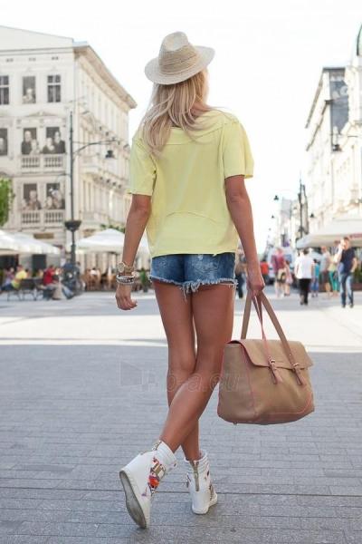 Marškinėliai Poppy (citrinos spalvos) Paveikslėlis 1 iš 2 310820032979