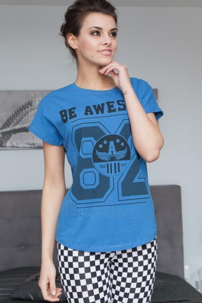 Marškinėliai Preston (mėlynos spalvos) Paveikslėlis 1 iš 3 310820032977