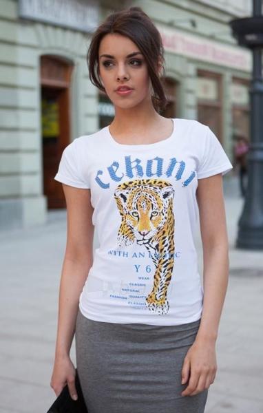 Marškinėliai Rabia. (baltos spalvos) Paveikslėlis 1 iš 5 310820033325