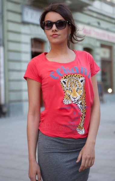 Marškinėliai Rabia. (raudonos spalvos) Paveikslėlis 1 iš 3 310820033327