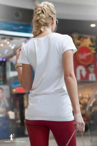 Marškinėliai Rabia (baltos spalvos) Paveikslėlis 1 iš 2 310820032970