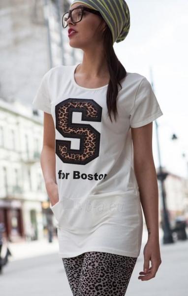 Marškinėliai Rabia (kreminės spalvos) Paveikslėlis 1 iš 3 310820032973