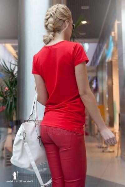 Marškinėliai Rabia (raudonos spalvos) Paveikslėlis 1 iš 2 310820032972