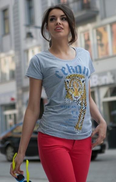 Marškinėliai Rabia (šviesiai pilkos spalvos) Paveikslėlis 1 iš 6 310820033186